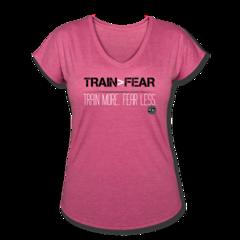 Women's V-Neck Tri-Blend T-Shirt