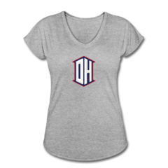 Women's V-Neck Tri-Blend T-Shirt by DeAndre Hopkins