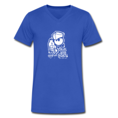 Men's V-Neck T-Shirt by DaQuan Jones