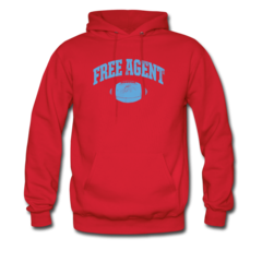 Men's Hoodie by Rennie Curran