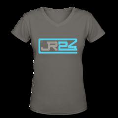 Women's V-Neck T-Shirt by John Grant Jr