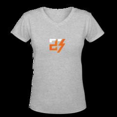 Women's V-Neck T-Shirt by Drew Snider