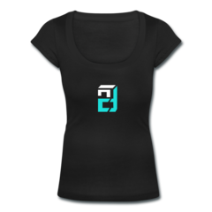 Women's Scoop Neck T-Shirt by Drew Snider