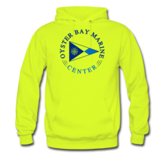 Men's Hoodie by Oyster Bay Marine Center