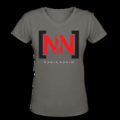 Women's V-Neck T-Shirt by Nadia Nadim