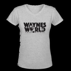 Women's V-Neck T-Shirt by Trae Waynes