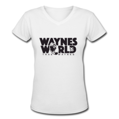 Women's V-Neck T-Shirt by Trae Waynes