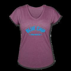 Women's V-Neck Tri-Blend T-Shirt by Ryan Martin