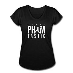 Women's V-Neck Tri-Blend T-Shirt by Tommy Pham