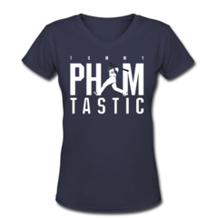 Women's V-Neck T-Shirt by Tommy Pham