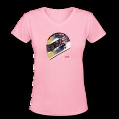 Women's V-Neck T-Shirt by Justin Wilson
