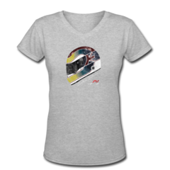 Women's V-Neck T-Shirt by Justin Wilson
