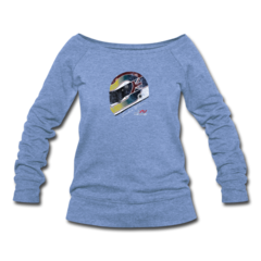 Women's Wideneck Sweatshirt by Justin Wilson