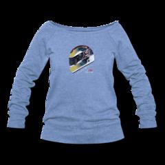 Women's Wideneck Sweatshirt by Justin Wilson
