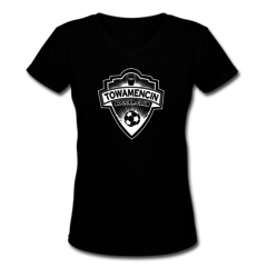Women's V-Neck T-Shirt by Towamencin Soccer Club