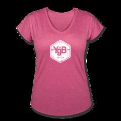 Women's Tri-Blend V-Neck T-shirt