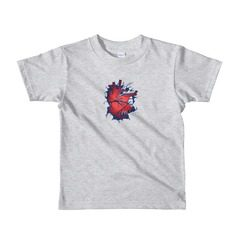 2105W Kids Fine Jersey Short Sleeve T-Shirt