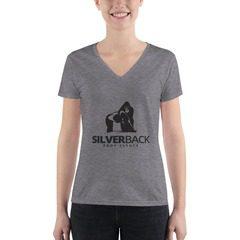 8435 Triblend Deep V-Neck T-Shirt