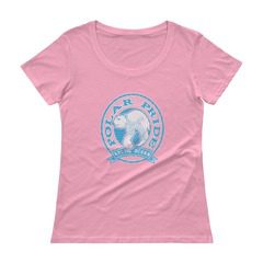 391 Ladies Sheer Scoopneck T-Shirt